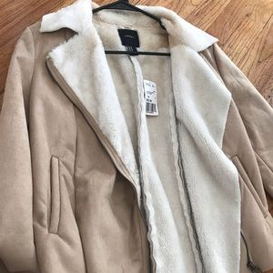 Never worn, cute and warm jacket